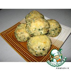 Рецепт Котлеты куриные с рисом и шпинатом