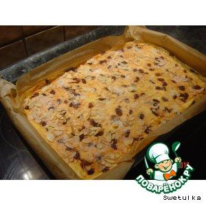Рецепт Вкусный творожный пирог