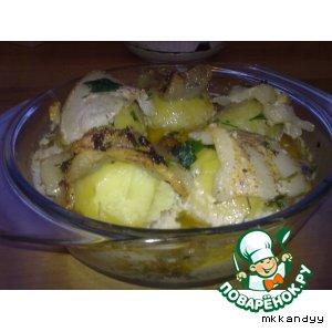 Рецепт Запеченная картошечка