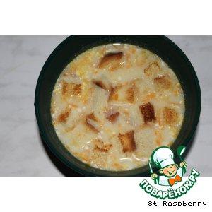 Рецепт Сырный суп-пюре