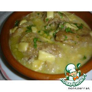 Рецепт Ножки свиные под ореховым соусом