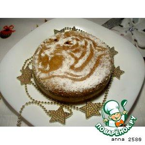 Рецепт Персиковое желе с кофейной панна коттой