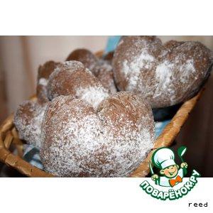 Сердечные булочки домашний рецепт с фотографиями пошагово готовим