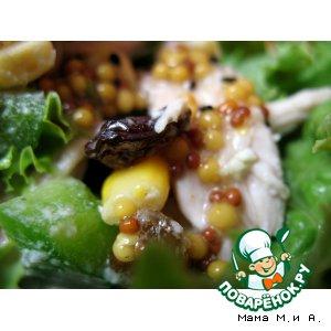 Рецепт Салат с курицей в китайском стиле