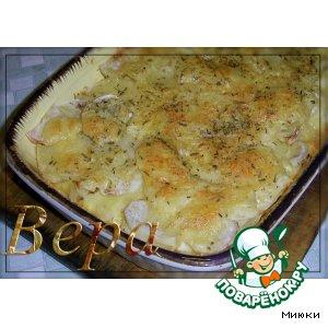 Рецепт Золотистый картофель