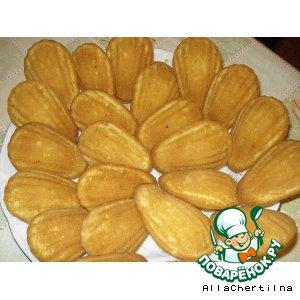 """Рецепт: Французское печенье """"Мадлен"""""""