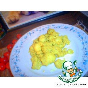 Рецепт Цветная капуста, жаренная с карри
