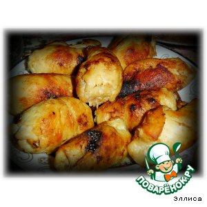 Рецепт Пальчики из куриного филе с черносливом и кедровыми орешками