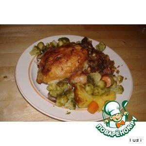 Рецепт Курица без костей
