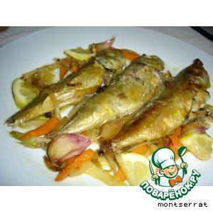 Рецепт Скумбрия в маринаде ескабече (escabeche)