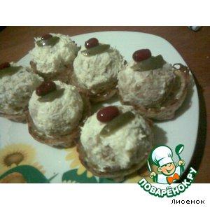 """Рецепт """"Мохнатые шарики"""" в картофельных корзинках"""