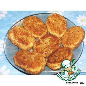 Рецепт Картофельные котлетки с грибами