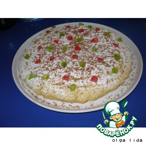 Рецепт Манный пирог с лимоном