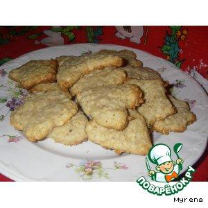 """Рецепт: Печенье """"Овсянка"""""""