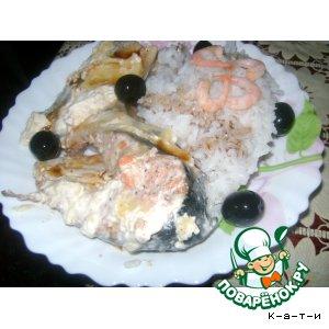 Рыбка с рисом
