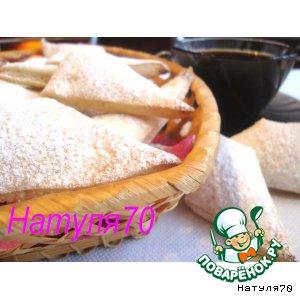 Рецепт Слоеное сахарное печенье