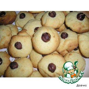 Как приготовить Кукурузное печенье вкусный рецепт с фото
