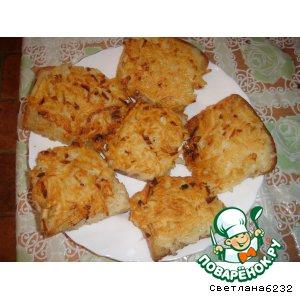 Рецепт Горячие бутерброды картофельные