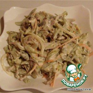 Рецепты мясных салатов обжорка