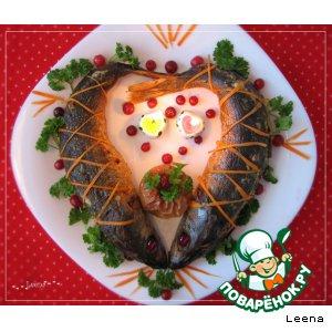 "Рецепт: Красноглазка фаршированная ""Love me tender"""