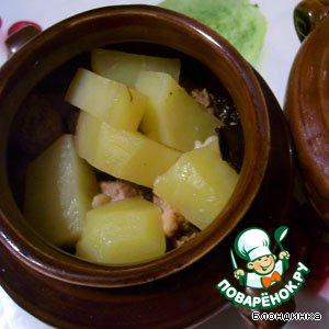 Рецепт Ушное из свинины