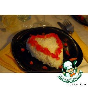 """Рецепт Рис с мидиями и овощами """"Сердцем к сердцу"""""""