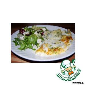 Рецепт Треска в сливочно-укропном соусе