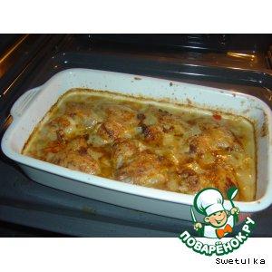 Рецепт Крылышки в горчичном соусе