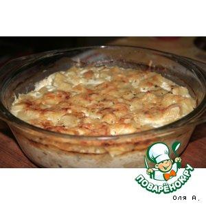 Рецепт Картофель запеченный в молоке
