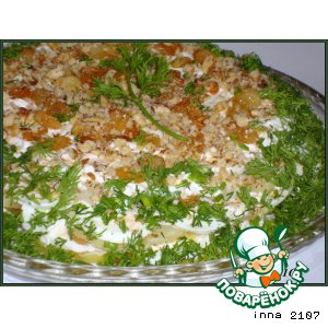 Рецепт Салат из картофеля по-турецки