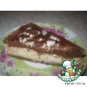 """Рецепт Торт """"Бананы в йогурте"""""""