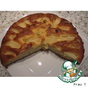 Яблочный пирог вкусный рецепт с фотографиями пошагово
