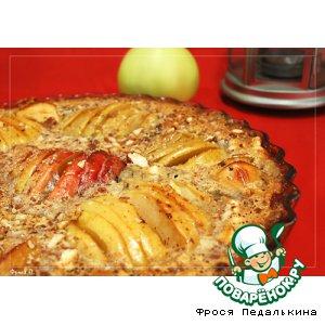 Рецепт Пирог с яблоками и миндалем