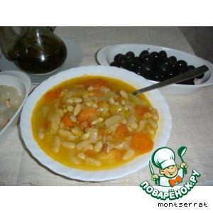 Рецепт Греческий фасолевый суп (фассолада)
