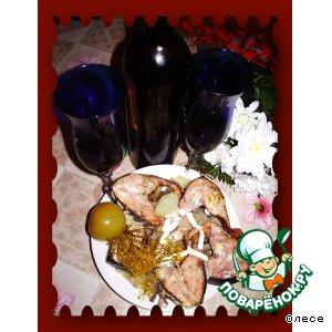 Рецепт Горбуша в вине