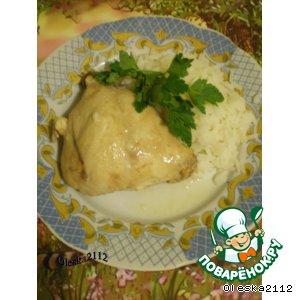 Рецепт Кролик в белом соусе