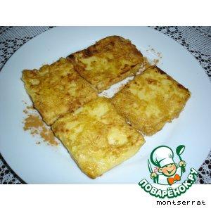 "Рецепт Десерт ""Молоко жареное""- Leche frita"