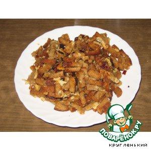 Рецепт Острые сухарики с сыром
