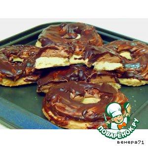 Рецепт Песочное печенье с трюфельной начинкой