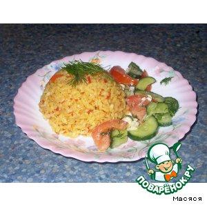 Рецепт Рис с томатным соусом