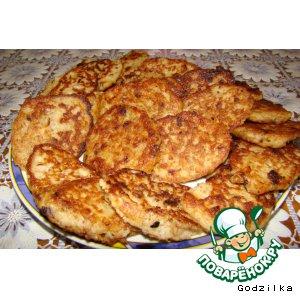 Рецепт Гечнево-рисовые оладьи