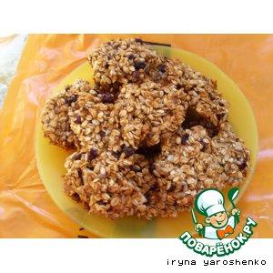 Рецепт Постное овсяное печенье