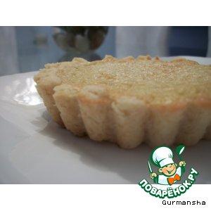 Рецепт Tartelettes amandines - Миндальные тарталетки