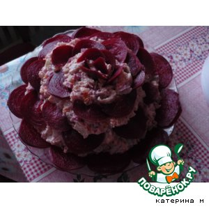 "Рецепт Салат ""Черная роза"""