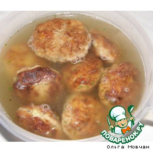 Рецепт Котлетки с картофельной начинкой
