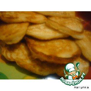 Рецепт Оладушки яблочные с корицей