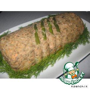 Рецепт Паштет из форели, шампиньонов и цветной капусты