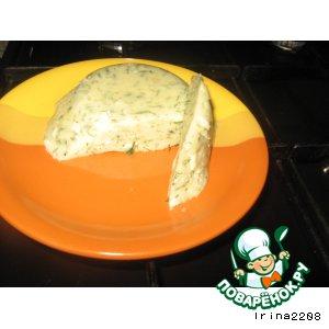 Рецепт Домашний сыр с укропом