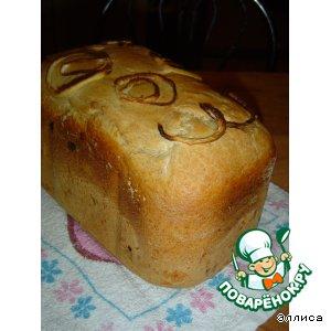 Рецепт Хлеб с сыром, луком и чесноком