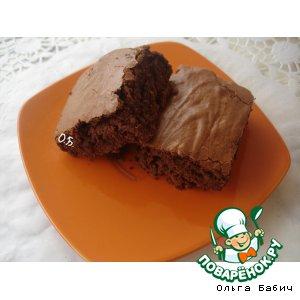 Рецепт Греческий шоколадный кекс на дрожжах
